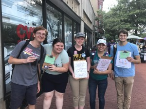 Reflecting on a Summer of Organizing for a Carbon Price in DC