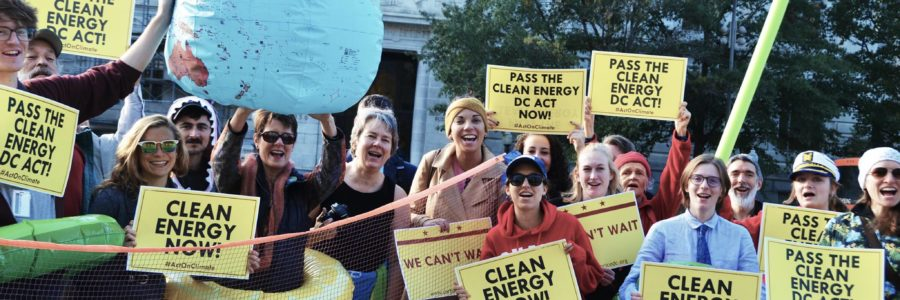 Tuesday, December 18:  DC Council to Pass Strongest Climate Bill in the Nation